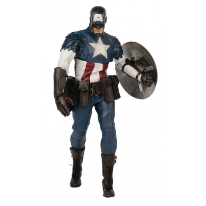 Marvel Comics Captain America 1:6 Scale Collectible Figure Set Three A