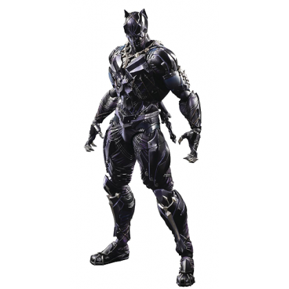 Marvel Comics Universe Black Panther Variant Play Arts Kai Action Figure