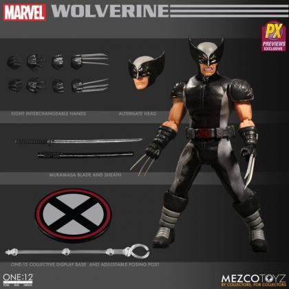 Marvel Comics One:12 Collective X-Force Wolverine Action Figure