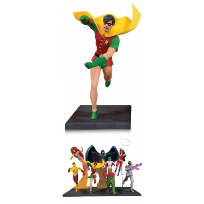 DC Comics Teen Titans Robin Multi Part Statue from DC Collectibles