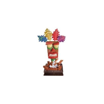 Crash Bandicoot Aku Aku Life Size Mask Statue From First 4 Figures