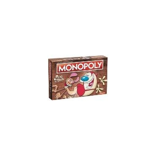 Usaopoly Monopoly Ren And Stimpy Board..
