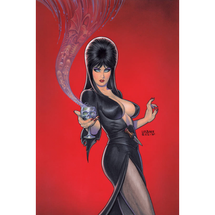 Dynamite Comics Elvira Mistress of Dark 4 1:25 Linsner Virgin Variant