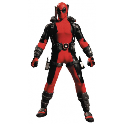 One 12 Collective Marvel Comics Deadpool Action Figure by Mezco