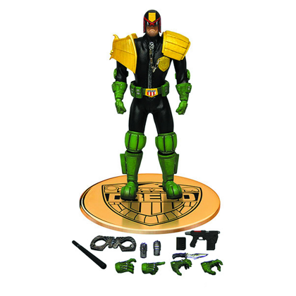 One 12 Collective Judge Dredd Action Figure from Mezco Toys
