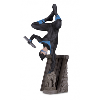 DC Comics Batman Family Nightwing Multi Part Statue by DC Collectibles