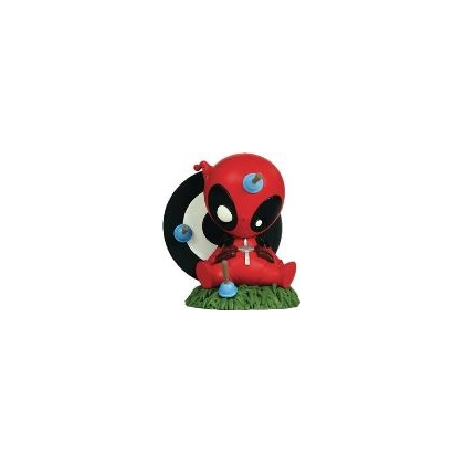 Gentle Giant Marvel Mini Heroes Animated Deadpool Pvc Statue