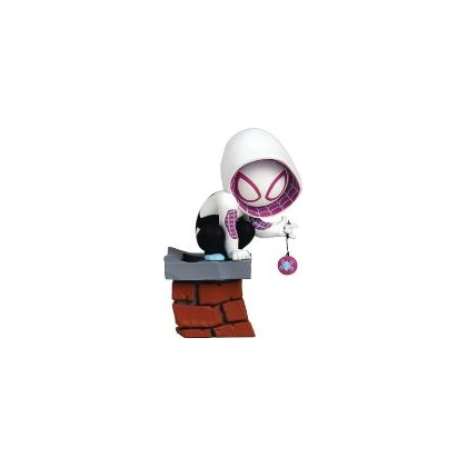 Gentle Giant Marvel Mini Heroes Animated Spider-gwen Pvc Statue