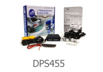 4 Parking Sensors - Audio & Roof Display DPS455