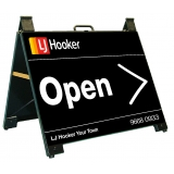 LJ Hooker Open Endurosign Portable A-F..