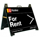 LJ Hooker For Rent Endurosign Portable..