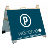 Place Welcome Portable Endurosign A-Fr..