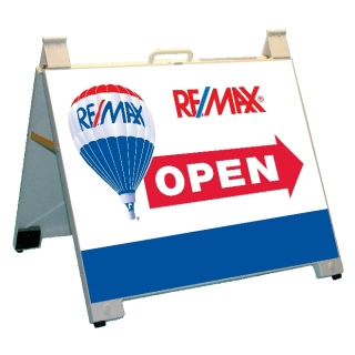 Remax Open Portable Endurosign A-Frame..