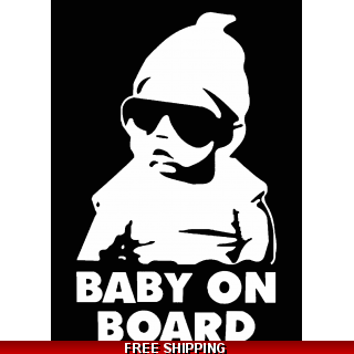Baby On Board Cool Dude..