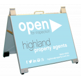 Highland Property Agents Open Portable..
