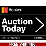 LJ Hooker Auction Today Endurosign Rep..