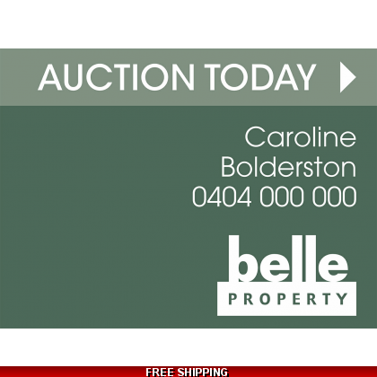 Belle Property Auction Today Endurosign Replacement Sticker Set