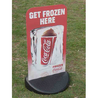 EcoFlex Wind Resistant Pavement Sign