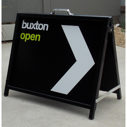 600x450 Double Sided Corflute Insert Metal A-Frame Sign