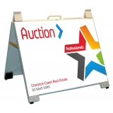 Professionals Auction Portable A-Frame..
