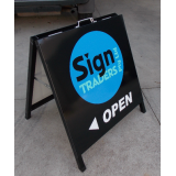 High Quality Metal A Frame Sign 60x60c..
