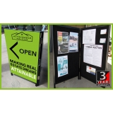 Portable Pinboard Large Printed