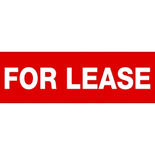 FOR LEASE Sticker
