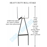 Bull Stake Corflute Sign Holder Heavy ..