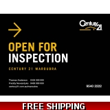 Century 21 Open For Inspection Enduros..