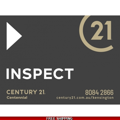 Century 21 Inspect Endurosign Replacement Sticker Set