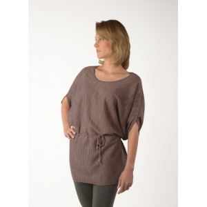 One size Belted Miel Alpaca Light Fall Top Blouse