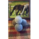 Set of 6 Alpaca Dryer Balls