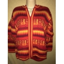 Zip Up Alpaca Cardigan Sweater-Md/Large-