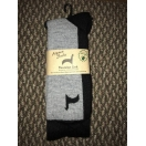 Hiker Socks alpaca logo Large