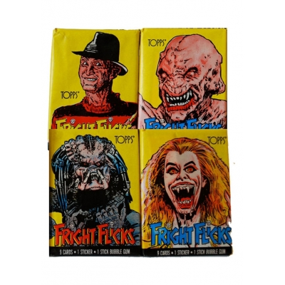1988 Topps Fright Flicks Tra..
