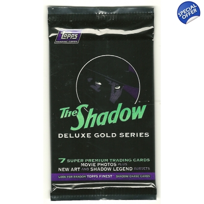1994 Topps THE SHADOW Tradin..