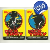 1990 Topps Dick Tracy Trading Cards