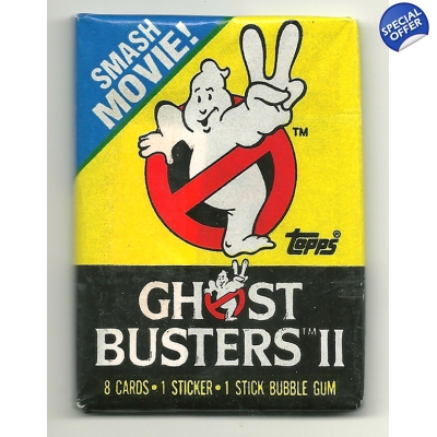 1989 Topps Ghostbusters 2 Tr..