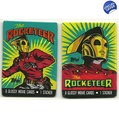 1991 Topps The Rocketeer Tra..