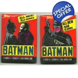 1989 Topps Batman Trading Cards 2nd Se..