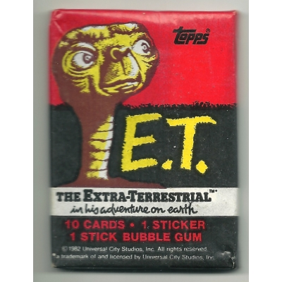 1982 Topps E.T. The Ext..
