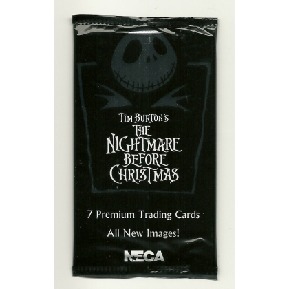 2001 NECA The Nightmare Before Christmas Trading Cards