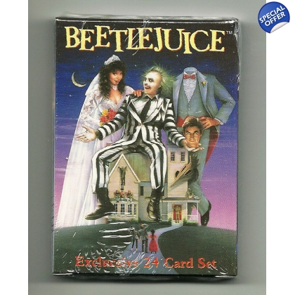 2001 Neca Beetlejuice Trading Cards - Full Set