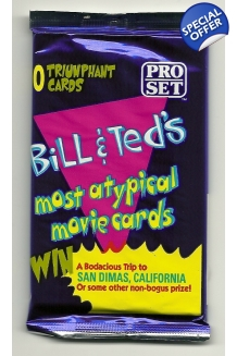 1991 Pro-Set Bill & Ted's Mo..