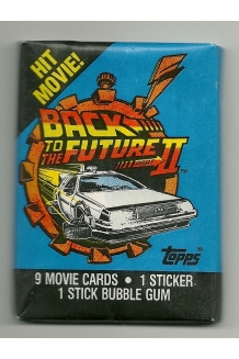 1989 Topps Back to the Futur..