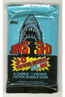 1983 Topps Jaws 3-D Trading ..