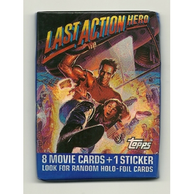 1993 Topps The Last Action Hero Trading Cards