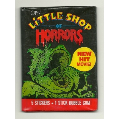 1986 Topps Little Shop ..
