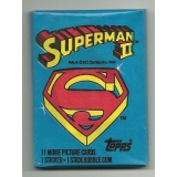 1980 Topps Superman 2 Trading Cards