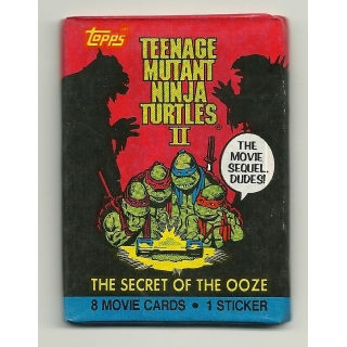 1991 Topps Teenage Mutant Ninja Turtle..